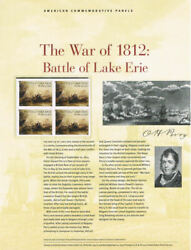 924 Forever The War Of 1812 Lake Erie 4805 Usps Commemorative Stamp Panel