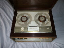 Vintage Bell And Howell Reel To Reel R-player Model 300m