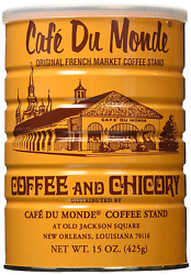 Cafe Du Monde Coffee Chicory 15 Ounce Pack of 3