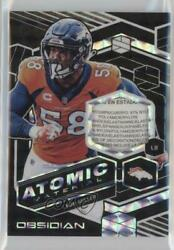 2018 Panini Obsidian Atomic Material Relics Electric Etch White 1/1 Von Miller