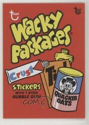 2018 80th Anniversary Wrapper Art Online Exclusive /498 1973 Wacky Packages 112