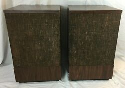 Vintage Pair Bose 501 Series Il Direct / Reflecting Speakers 1971-73 Retro Brown
