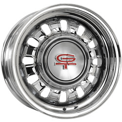 689ss156c 15x6 Ford Styled Steel 1968-69 Wheel 5x4.5 Bolt Pattern