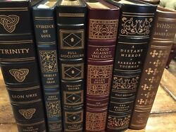 Franklin Library - Lot Of 6 First Edition Books