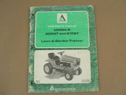Allis Chalmers 808gt 810gt Lawn And Garden Tractor Owners Manual Maintenance 1976