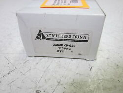 Struthers-dunn 236abxp-020 Time Delay Relay 0.2-20 Sec. 120vac New In Box
