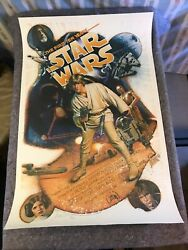 Star Wars The First Ten Years 1987 Orig Poster 27x41 Signed Kilian Version Vf+