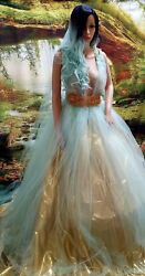 80 PC WHOLESALE LOT TIFFANY BLUE WEDDING GOWNSACCESSORIES Many Styles