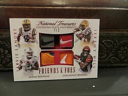 National Treasures Friends Foes Dolphins Jarvis Landry Lsu Jeremy Hill 2/2 2015