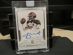 Panini Flawless Rookie On Card Autograph Buccaneers Jameis Winston 21/25 2015