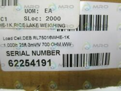 Rice Lake Rl75016whe-1k Load Cell 1000lbs New In Box