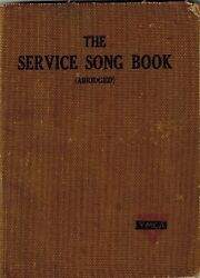 1918 Service Song Book Army Navy Ymca World War I Hymns Hymnal Military Spirit