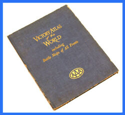 Victory Atlas Of The World Including Battle Maps Of All Fronts Aaa