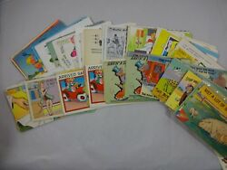 Lot About 367 Vintage Comic Postcards Undivided Back Through 1960s