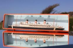 White Star Line Rms Majestic Bassett Lowke Waterline Model Ship Boxed And Mint