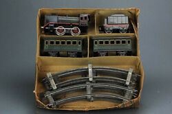 Antique Tin Toy Marklin R880 Tin Train Pre War Germany Ca 1930and039s In Box