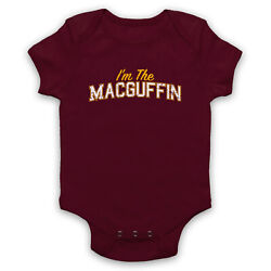 I'm The Macguffin Funny Plot Device Slogan Fiction Goal Baby Grow Shower Gift