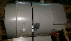 Reliance Dc Motor 150 Hp 240 Volts 1750/2200 Rpm