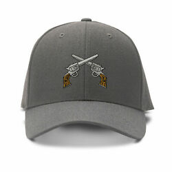 Crossed Pistols Handguns Embroidered Ball Cap Hat Wild Old West 28 Colors New