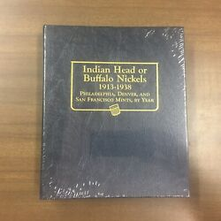 Whitman Classic Coin Album 9115 For Buffalo Nickels From 1913-1938