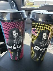 2x Selena 2019 Commemorative Limited Edition Stripes Cup Queen Of Cumbia