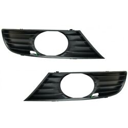2x Seat Leon 1m Toledo Mk2 Front Bumper Fog Light Cover Grille Left And Right