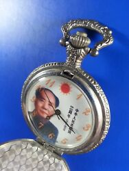 Perfect Authentic Original Antique Pocket Watch Mao Ze Dong 100th Year Birthday