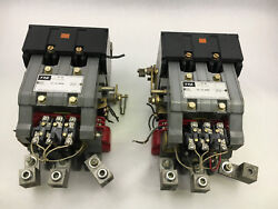 Federal Pacific Fpe 4204cu53-es01 Used 3p Size 5 Ac Control Sold In A Pair C3