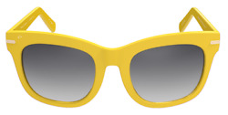 PRIVE REVAUX Madelaine Collection Clique Handcrafted Designer Sunglasses Yellow $22.46