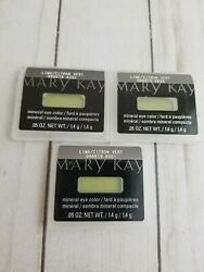Lot of 3 Mary Kay Mineral Eye Color ~Lime~Green