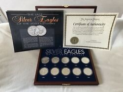 The Last Silver Eagles Of The 20th Century Coin Collection