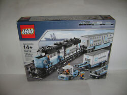 New 10219 Lego Creator Maersk Blue Train Building Toy Sealed Box Retired Rare A