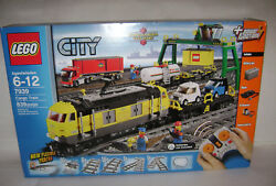 New 7939 Lego City Cargo Train Tracks Power Functions Building Toy Retired A