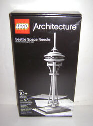 New 21003 Lego Architecture Seattle Space Needle Building Toy Sealed Retired A