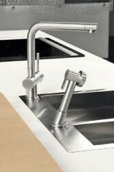 Gessi Kitchen Oxygene Mixers Sink Mixer With Swivelling Spout 16556