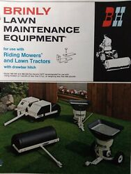 Brinly Pull-type Implements Riding Mower Lawn Tractor Sales Brochure Manual