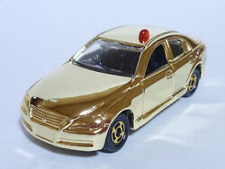 Tomica Toyota Mark X Mask Police Car Gold Plate Edition Takara Tomy Limited Item