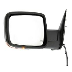 Mirror Power For 2013-2015 Ram 1500 2500 3500 Front Left Heated With Memory