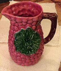 Jay Willfred Andrea By Sadek Rare Red Grapes Berries Raspberry Pitcher Portugal