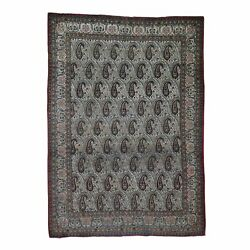 6and0393x8and0399 Antique Farsian Qashqairaz Good Condition Hand-knotted Rug R44939