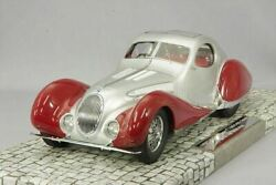 Minichamps 107117121 Talbot Lago T150-c-ss Coupe 1937 Silver Red 1/18 New