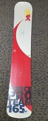 NOS SG FORCE PRO TEAM V17 165 BOARDER CROSS ALL AROUND SNOWBOARD NEW IN WRAP