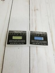 2 Mary Kay Mineral Eye Color Peacock Blue & Lime .05OZ.Each Long Lasting Shimmer
