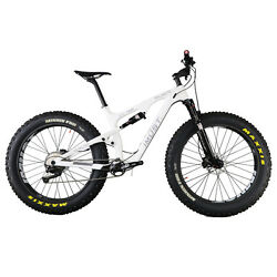 16inch Carbon Full Suspension Fat Tire Bike Small Size 4.8 inch tire
