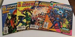 Marvellot Of 4 Journey Into Mystery The Lost Gods503-506 F/vf Sic599