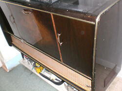 Vintage Valencia Record Player In Good Condition/ Partial Works Sold As-is