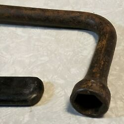 Antique Vintage Chevy Gm Car Bumper Jack Ratchet And Wrench 15659721