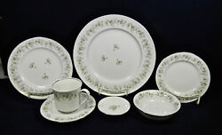 166-pieces Or Less Of Johann Havilandand039s Forever Spring Pattern Fine China