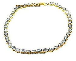 Vintage Style 6.70cts Natural Antique Cut Diamond Silver Tennis Necklace Jewelry