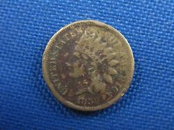 1859 Indian Head Cent Us Penny Coin W/ Problems